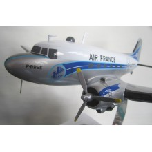 Maquette Douglas DC-3 Avion Air France (Bois)