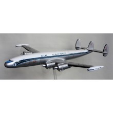 Maquette Super Constellation Avion AIr France (Bois)